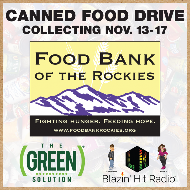 Second Annual TGS Food Drive | The Green Solution Studio